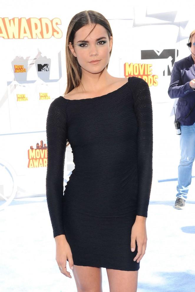 Maia Mitchell - 2015 MTV Movie Awards in LA