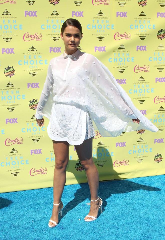 Maia Mitchell - 2015 Teen Choice Awards in LA