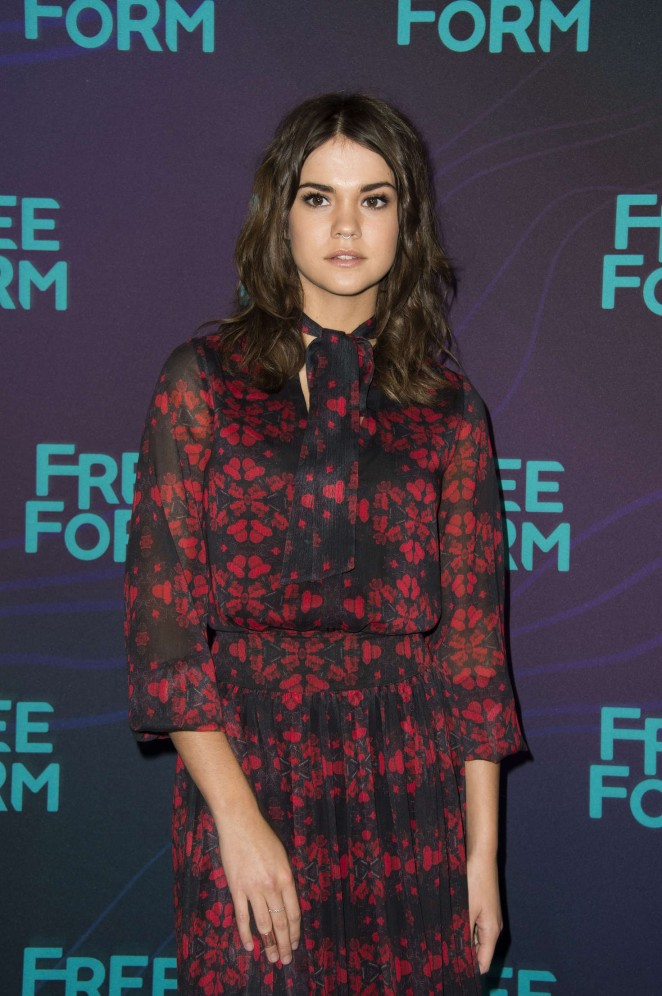 Maia Mitchell - 2016 Winter TCA Tour in Pasadena