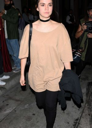 Maia Mitchell at Catch Restaurant in West Hollywood