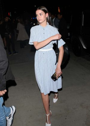 Maia Mitchell at TAO night club in Hollywood