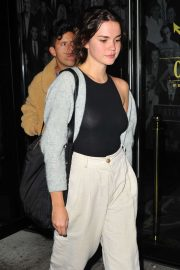 Maia Mitchell - Leaves Catch restaurant in West Hollywood