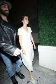 Maia Mitchell - Outside Delilah Nightclub in West Hollywood
