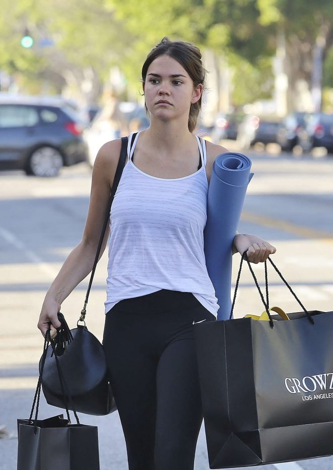 maia mitchell shopping in los angeles gotceleb