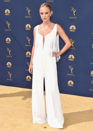 Maika Monroe - 2018 Emmy Awards in LA