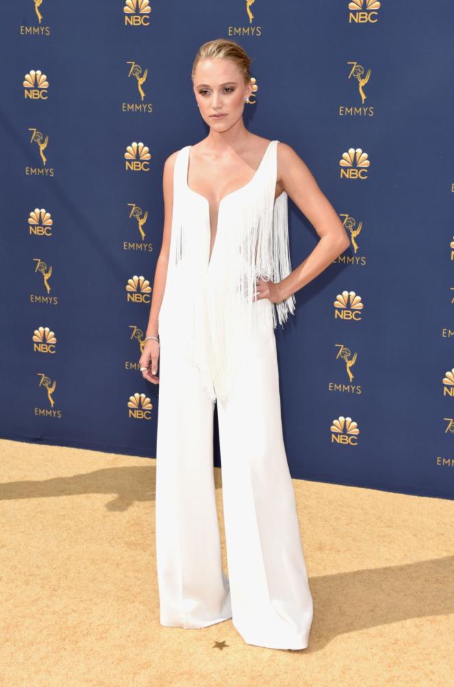 Maika Monroe - 2018 Emmy Awards in LA