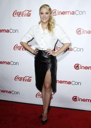 Maika Monroe - Big Screen Achievement Awards at CinemaCon 2016 in Las Vegas