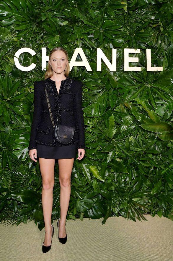 Maika Monroe - Chanel Dinner Celebrating Gabrielle Chanel Essence With Margot Robbie in LA
