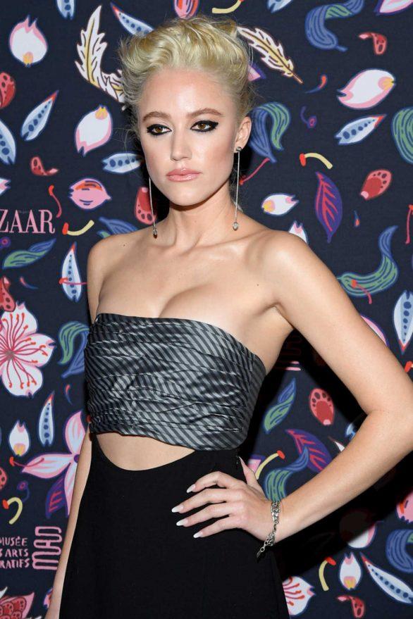 Maika Monroe - Harper's Bazaar Exhibition at 2020 Paris Fashion Week