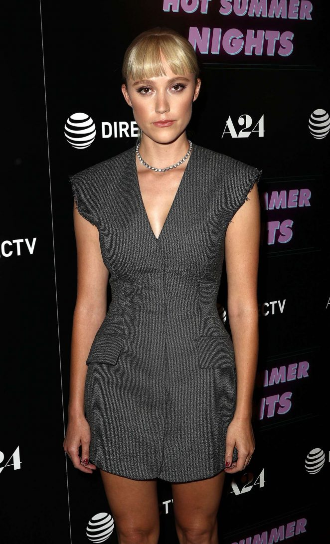 Maika Monroe - 'Hot Summer Nights' Screening in Los Angeles