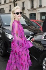 Maika Monroe - Valentino Show at Paris Fashion Week 2020