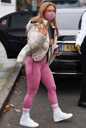 Maisie Smith - Dons sporty at Strictly Come Dancing Rehearsals in London