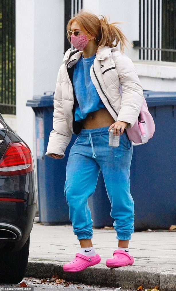 Maisie Smith - Seen at a Strictly Come Dancing Rehearsals in London