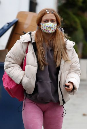 Maisie Smith - Seen at Strictly Come Dancing rehearsals in London