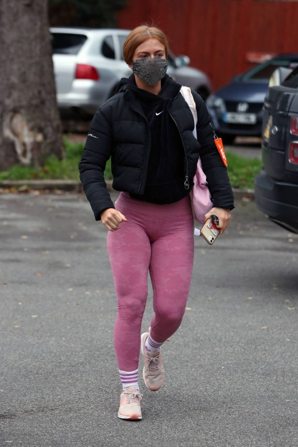 Maisie Smith - Seen outside Strictly Come Dancing rehearsals in London