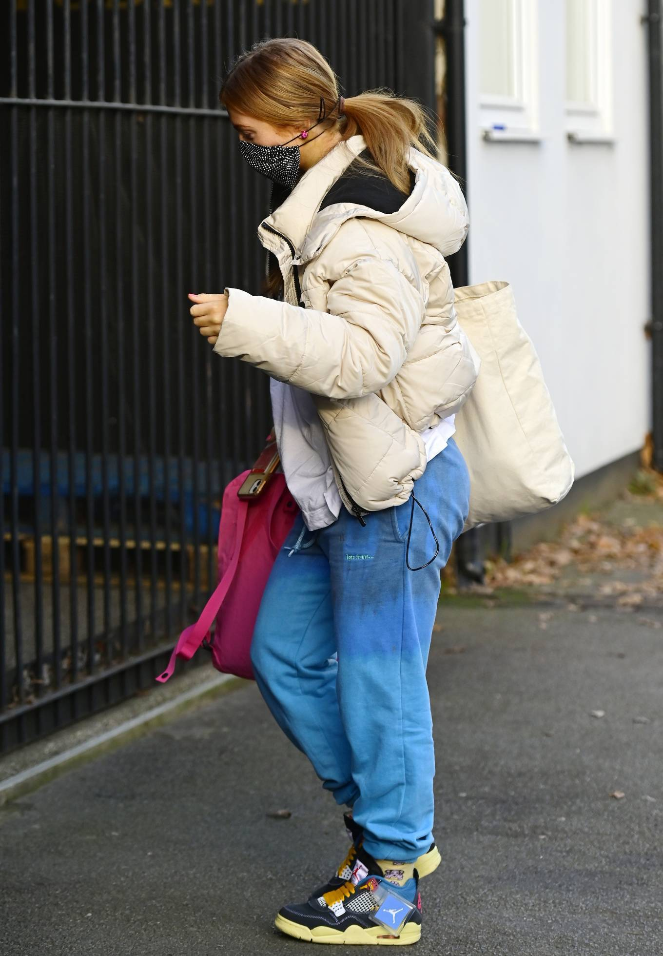 Maisie Smith - With partner Gorka Márquez arrive for Strictly Come Dancing rehearsals
