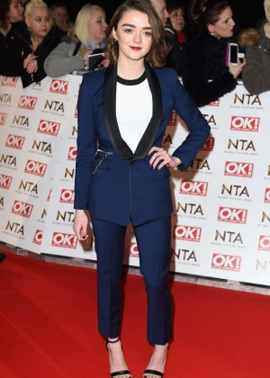 Maisie Williams - 2015 National Television Awards in London
