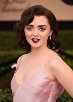 Maisie Williams - 2017 Screen Actors Guild Awards in Los Angeles