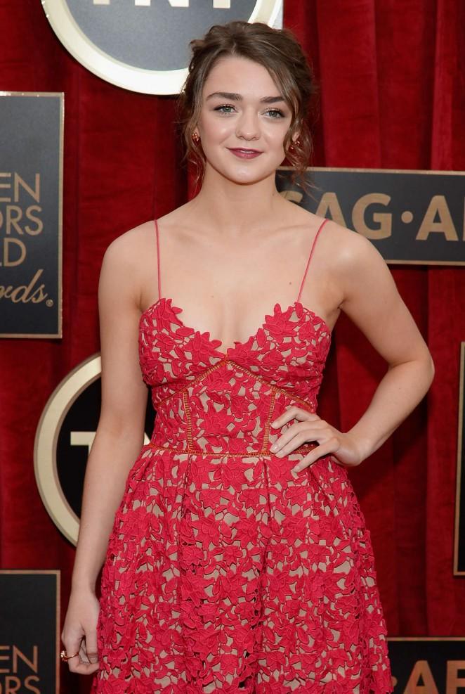Maisie Williams - 2015 Screen Actors Guild Awards in LA