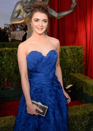 Maisie Williams - 2016 SAG Awards in Los Angeles
