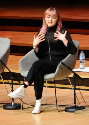 Maisie Williams - Attends the Women of the World Festival in London