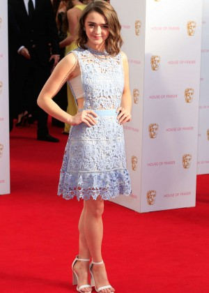 Maisie Williams - BAFTA Awards 2015 in London