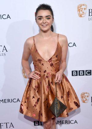 Maisie Williams - BAFTA LA TV Tea Party in Los Angeles