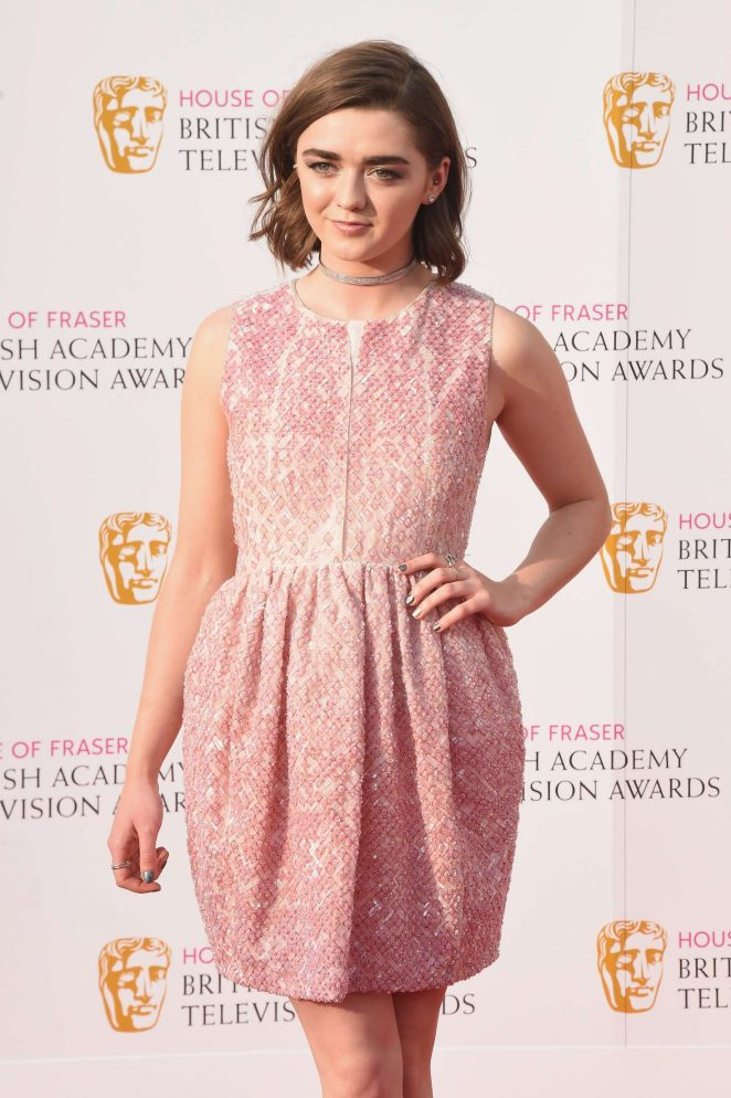 Maisie Williams - BAFTA TV Awards 2016 in London