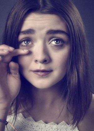 Maisie Williams by Andy Gotts Photoshoot 2015
