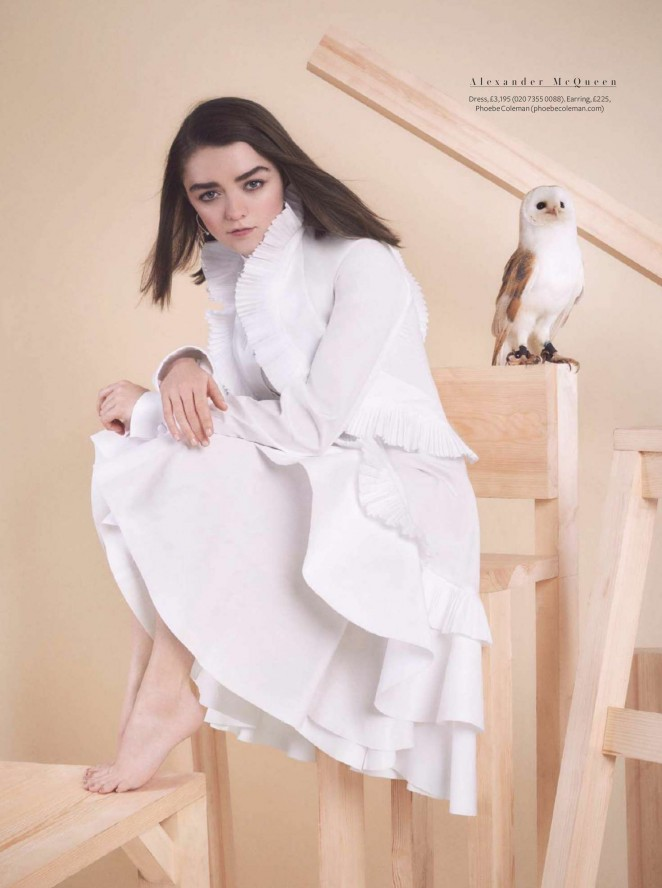 Maisie Williams by Jasper Abels for Instyle UK (April 2016)