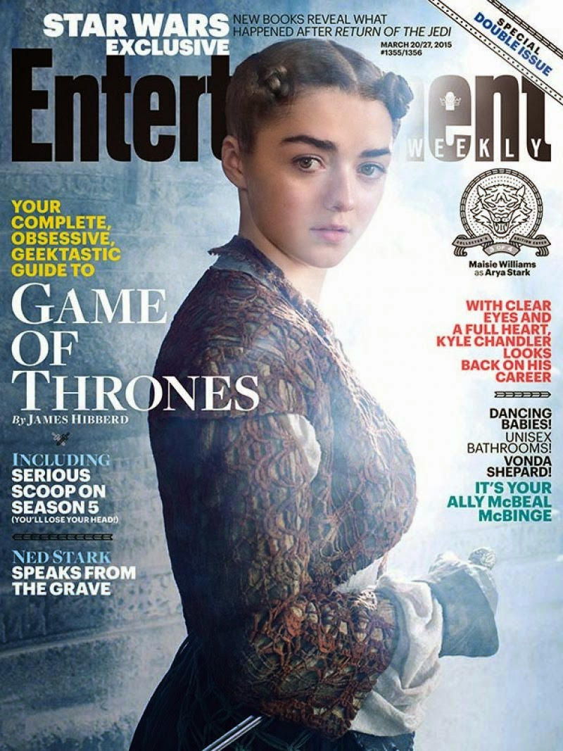 Maisie Williams - Entertainment Weekly (March 2015)
