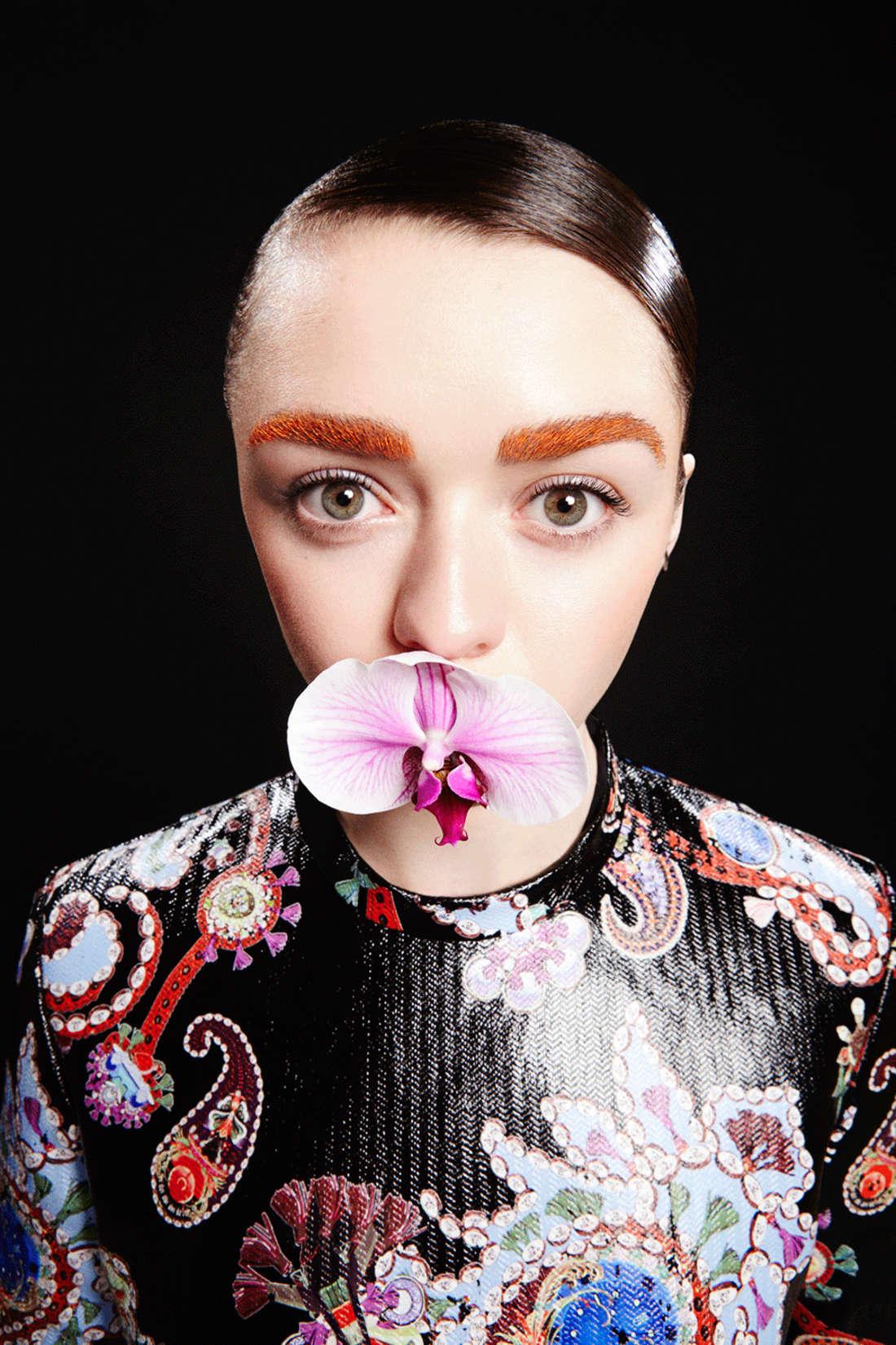 Maisie Williams - Evening Standard Photoshoot (August 2015)