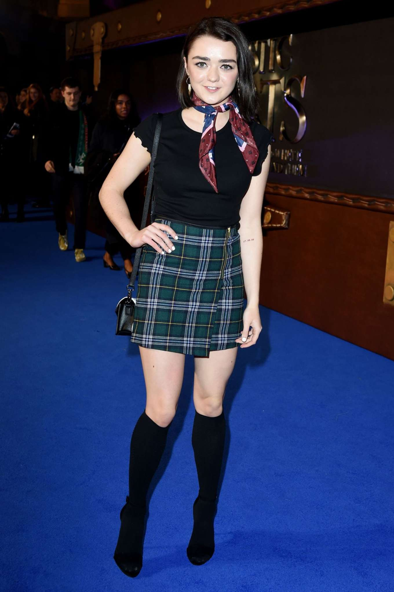 Maisie Williams Fantastic Beasts And Where To Find Them