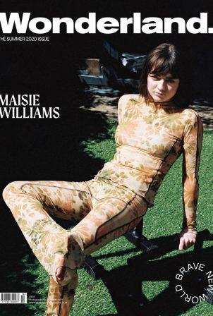 Maisie Williams for Wonderland Cover Magazine (Summer 2020)