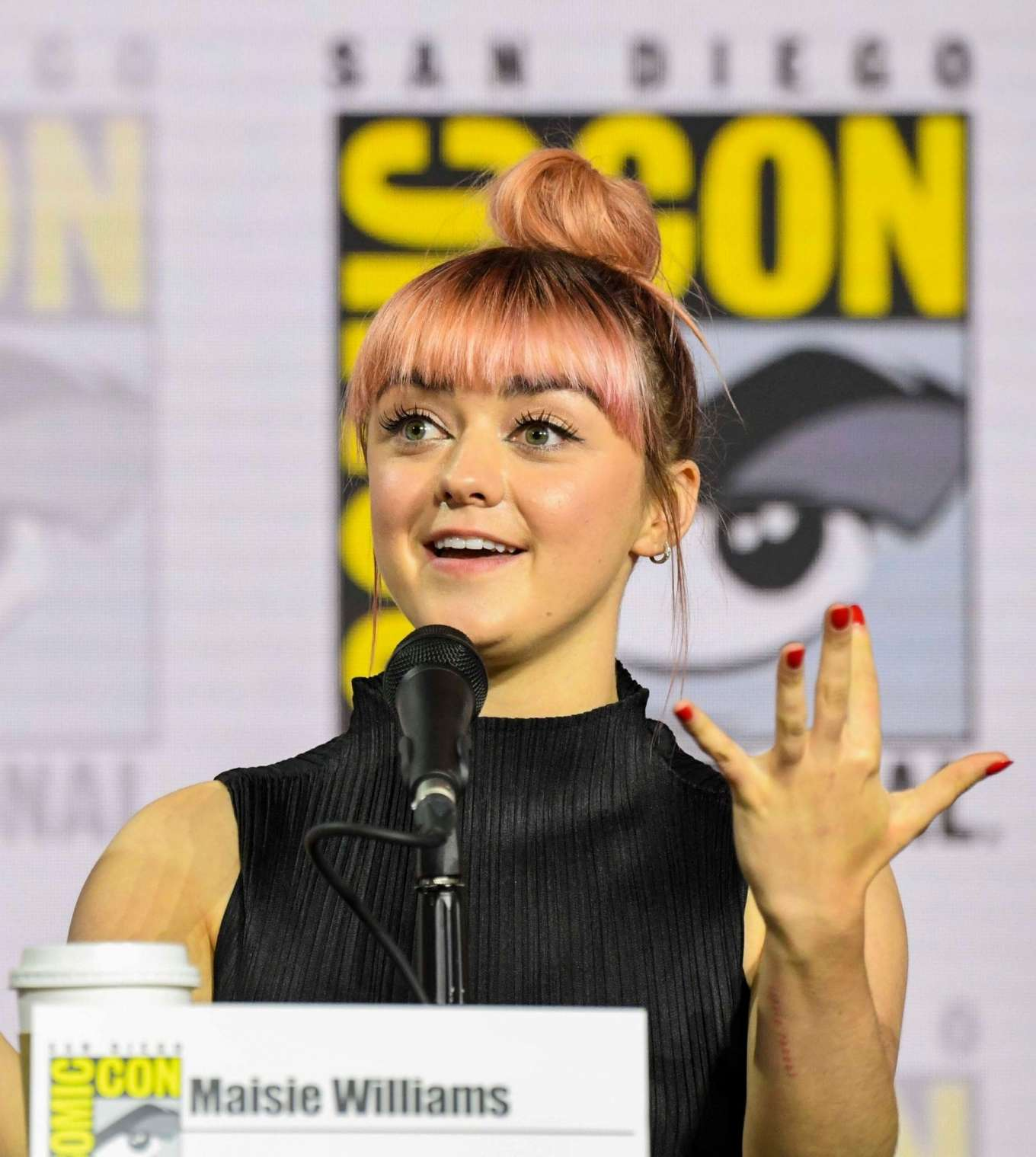 Maisie Williams 2019 : Maisie Williams – Game of Thrones Panel at Comic Con San Diego 2019-01