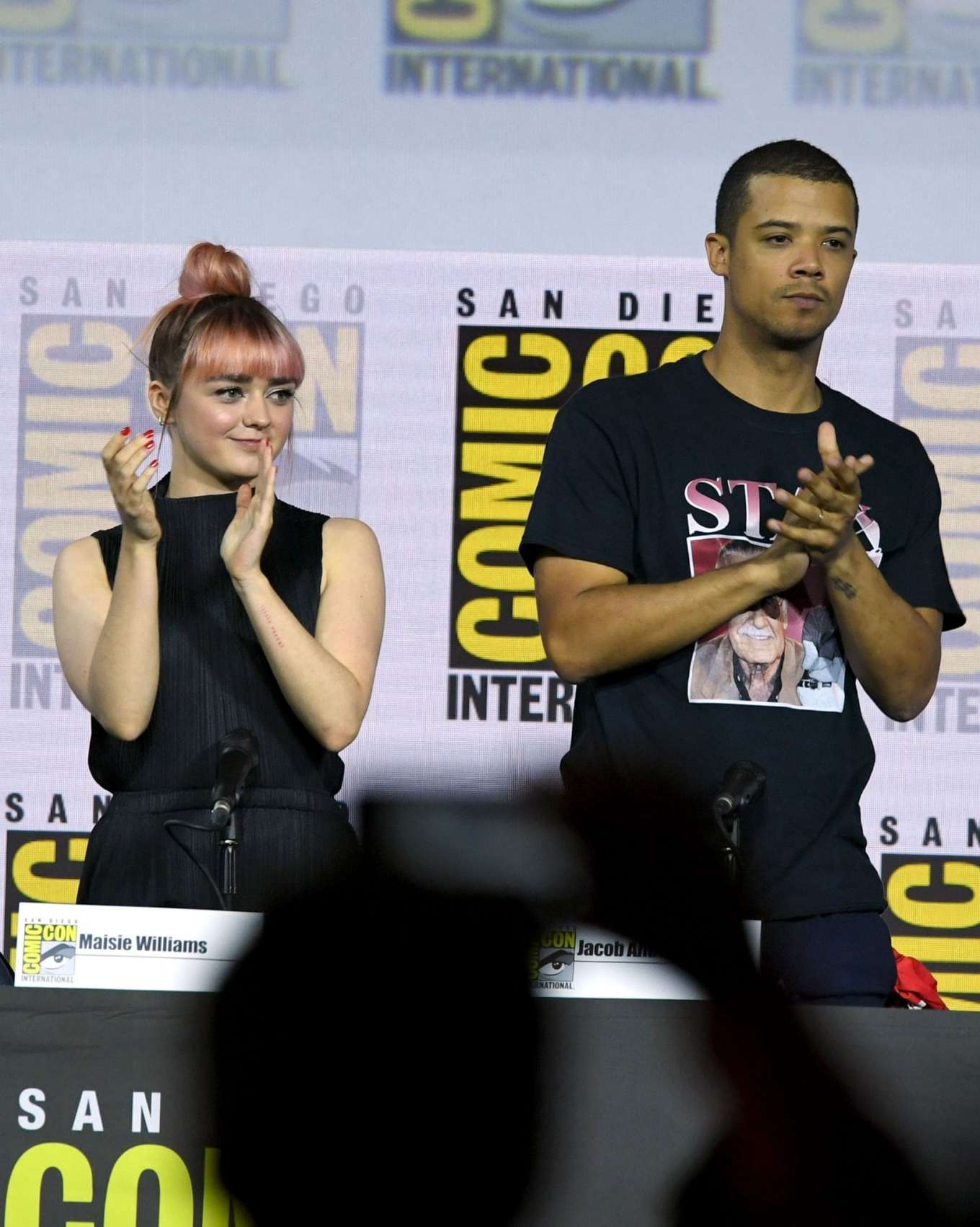 Maisie Williams 2019 : Maisie Williams – Game of Thrones Panel at Comic Con San Diego 2019-03
