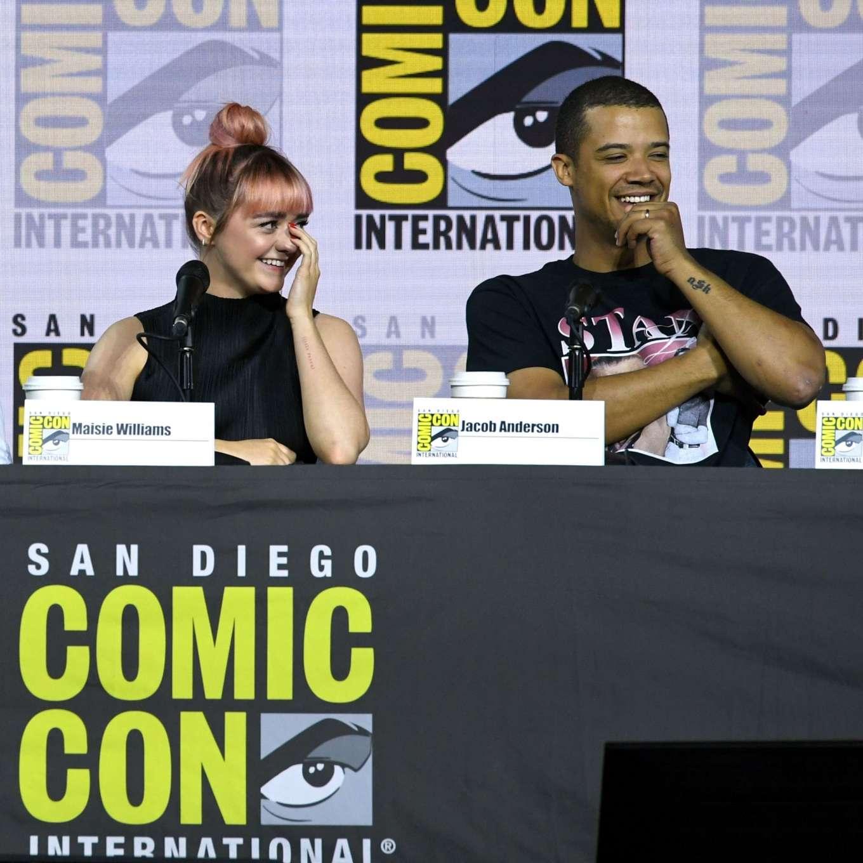 Maisie Williams 2019 : Maisie Williams – Game of Thrones Panel at Comic Con San Diego 2019-05