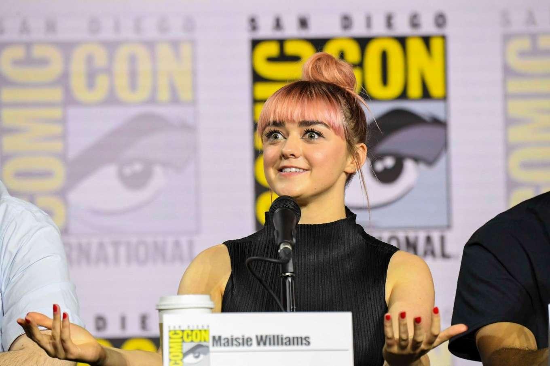 Maisie Williams 2019 : Maisie Williams – Game of Thrones Panel at Comic Con San Diego 2019-09