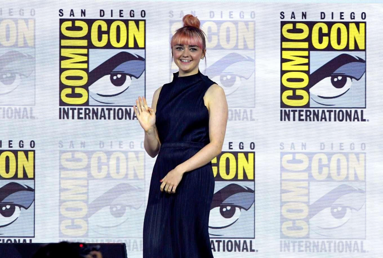 Maisie Williams 2019 : Maisie Williams – Game of Thrones Panel at Comic Con San Diego 2019-15