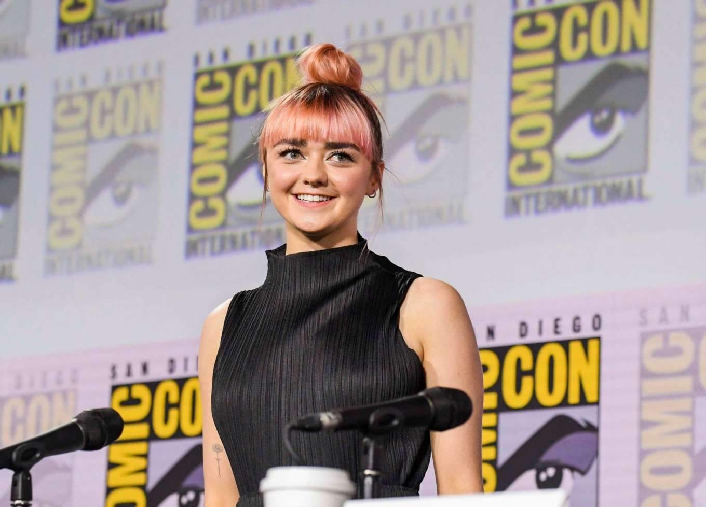 Maisie Williams 2019 : Maisie Williams – Game of Thrones Panel at Comic Con San Diego 2019-19