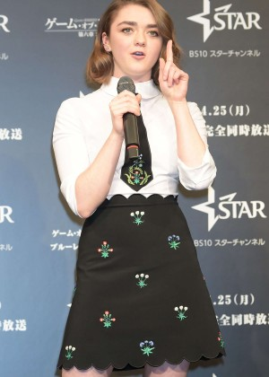 Maisie Williams - 'Game of Thrones' Season 6 Press Conference in Tokyo