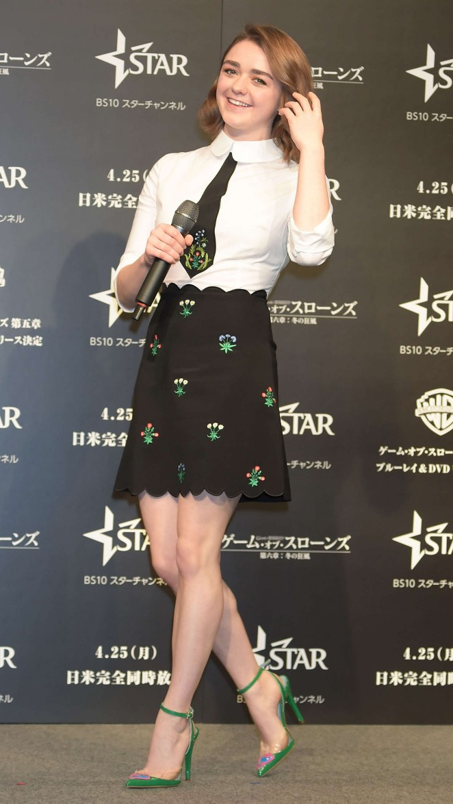 Galerry Maisie Williams – 'Game of Thrones Season Six Press Conference