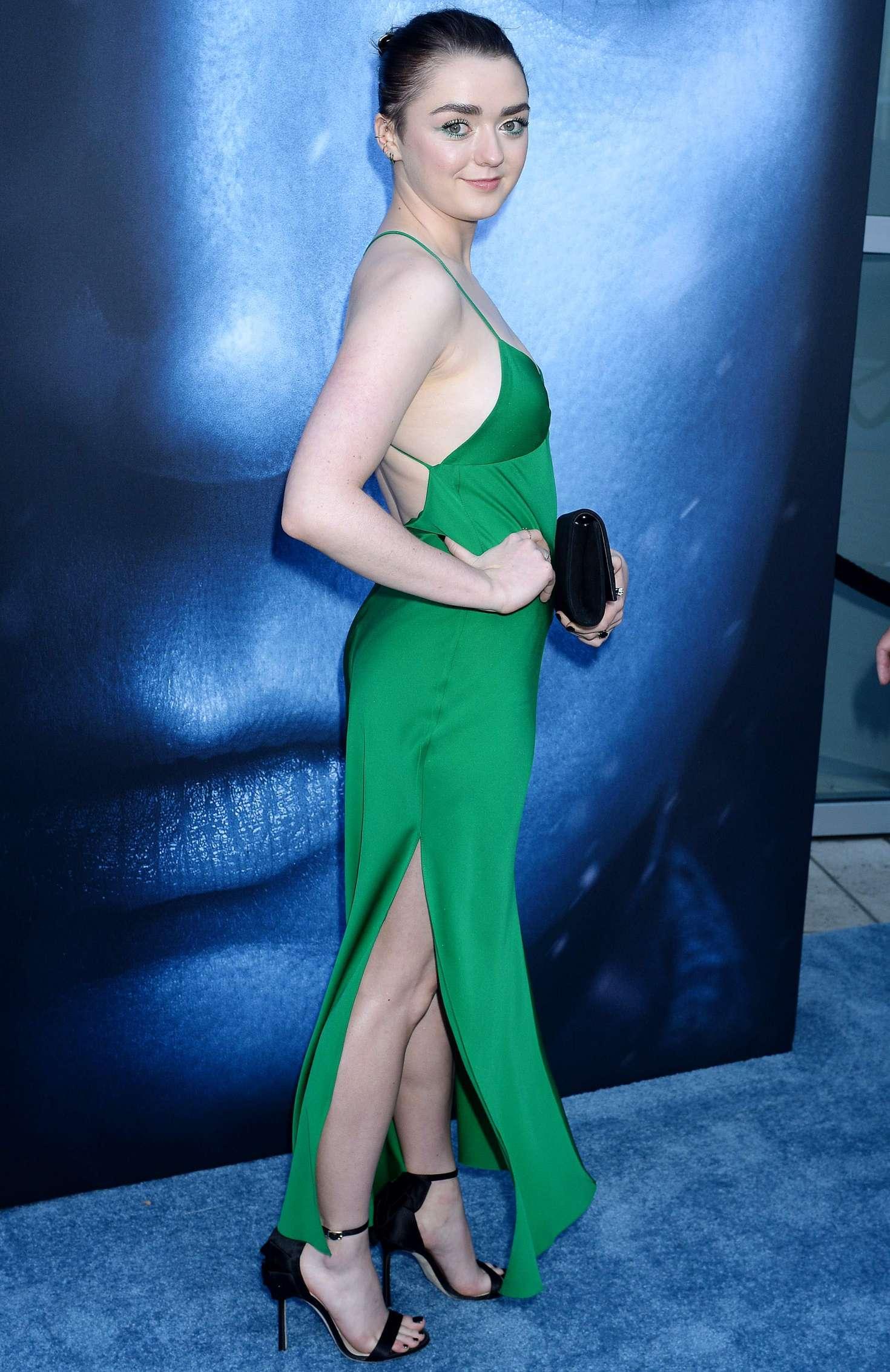 Maisie Williams - 'Game Of Thrones' Season 7 Premiere in Los Angeles