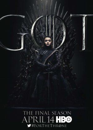 Maisie Williams - 'Game of Thrones' Season 8 Promotional Photos