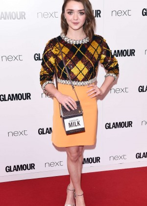 Maisie Williams - 2015 Glamour Women Of The Year Awards in London