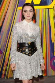 Maisie Williams - Grand Reopening of the Flagship Louis Vuitton Store on Bond Street in London