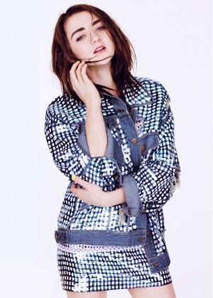 Maisie Williams in Glamour Magazine - March 2015