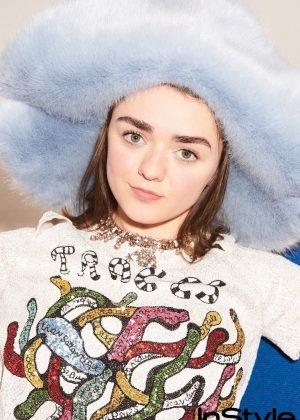 Maisie Williams - InStyle Magazine (April 2018)