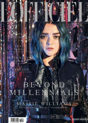 Maisie Williams - L'Officiel Italy 2016