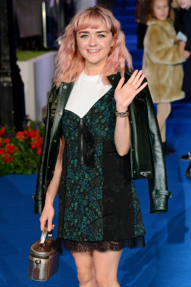 Maisie Williams – 'Mary Poppins Returns' Premiere in London
